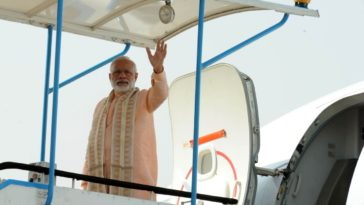 PM Modi leaves for Japan
